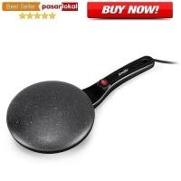 Panci Elektrik Pancake Pizza Crepes Frying Pan Maker