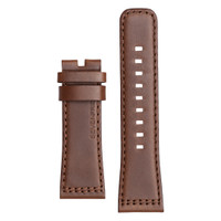 Tali / strap jam tangan SEVENFRIDAY V2/01 bahan kulit warna cokelat