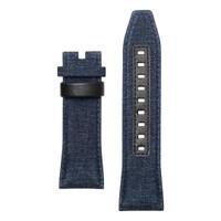 Tali / strap jam tangan SEVENFRIDAY M1B/01 bahan denim warna biru
