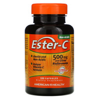 ESTER-C® 500 MG 120 CAPSULE (NON-ACID) AMAN DI LAMBUNG *MADE IN USA*