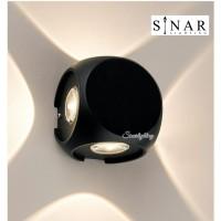 Lampu dinding mini minimalis outdoor LED 4110 B