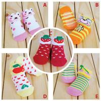 Kaos Kaki Bayi / Kaos Kaki Newborn / Baby Sock / Kaos Kaki Anti Slip
