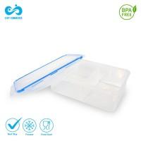 Tempat Makan 2 Sekat / Lunchy Box Free BPA