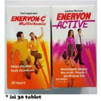 Enervon C active multivitamin btl 30's-vitamin daya tahan tubuh