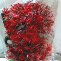 tanaman hias/ pohon plastik untuk hiasan aquarium