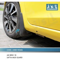 JSL Karpet Pelindung Lumpur All New Brio 2018 Tipe Satya Mud Guard