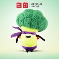MINISO Boneka Lucu Brokoli Karakter Kartun Pillow Plush Toy 33cm