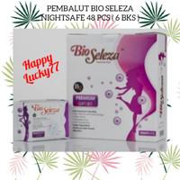 Pembalut Bio Seleza Nightsafe 48 Pcs ( 6 Bks )