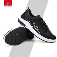 Redzeal Sneakers Pria Wanita Kasual Import Markemit V385 - Hitam, 40