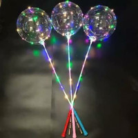 Balon Led Nyala Kedap Kedip 3mode - Bobo led