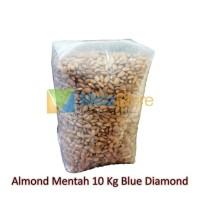 10kg Kacang Almond Mentah Blue Diamond