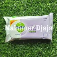 Dettol Wet Wipes 10 lembar Sensitive Tissue Tisu Basah