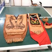 Pakaian Adat Dayak (rompi dari kulit kayu dll) khusus pria