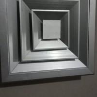 diffuser 6 inch 28 x 28 (15x15 dalam) natural