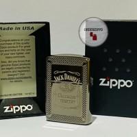 Zippo Original Armor Jack Daniels 49040