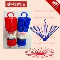 Gantungan Baju Hanger Folding Stick Lion Star