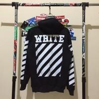 Jaket Hoodie Jumper Sweater Distro Off White Polos Custom Obral Murah