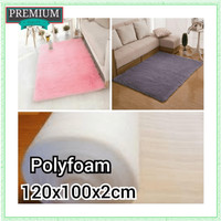 Great KARPET BULU RASFUR 120x100x2cm POLYFOAM qr7504