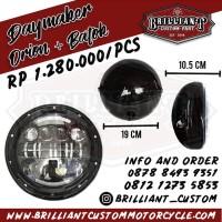 Headlamp Daymaker Import - Orion Batok 7 Inch - DOT Licensed