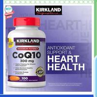 Jual Kirkland Signature CoQ10, 300 mg (100 Softgels) Berkualitas