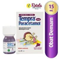 Terkini 100% Original - Tempra Drop Obat Demam Bayi Dan Anak - 15Ml /