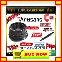 ID993 7Artisans 25mm f 1.8 APS-C For Fujifilm X-A10 X-A3 - Lensa Manua