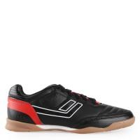 PROMO Sepatu League Meister La Futsal - Black Flame Scarlet Whi HZQID