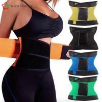WS Waist Trainer Belt Adjustable Support Band Slimming Body Shaper