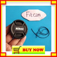 ZC930 Tutup depan lensa lenscap manual nikon fix 50 f1.8 afd 18 55 afs