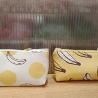 MINISO ORIGINAL! 2wrn. Banana pencil case. Tempat pensil miniso