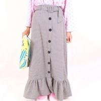 New Sale Zarra Houndstooth Skirt Dijamin 100% Original