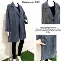 New Sale Blazer Zarra Salur Jumbo 2678, Ld 135 Cm Dijamin 100%
