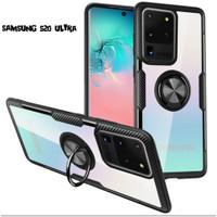 Casing Sofcase transparan Samsung S20 Ultra Soft Back Case