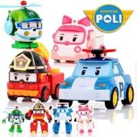 Mainan Robocar Poli Anak Set Mobil Mobilan Edukasi Toys Car Edukatif