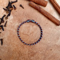 Gelang Tridatu Split Twister Black