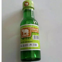Minyak kayu putih cap gajah botol kaca 55ml