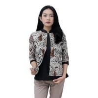 Batik Kantor Wanita / Blouse Atasan Batik / Batik Modern size S s/d 5L