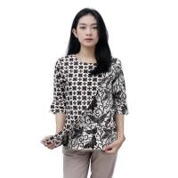Batik Wanita Blouse Atasan Modern / S-M-L-XL-XXL-3L-4L-5L