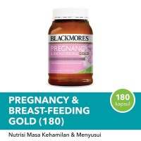 Blackmores Pregnancy & Breast - Feeding Gold isi 180 capsule ORIGINAL