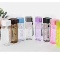 Botol my bottle square kotak Persegi Transparan Infuser water