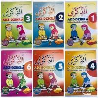 Pelajaran Menulis Huruf Al Quran Adz Zikra (Isi 6 buku)