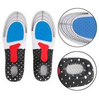 Shoe Pad Silicone alas kaki sepatu gel insole Empuk sepatu sneaker - L