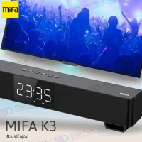 Speaker Soundbar MIFA K3 Speaker Wired & Wireless BLUETOOTH 5 TWS - Hitam
