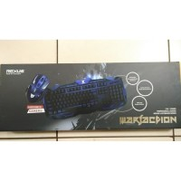 Keyboard + Mouse Gaming Rexus Warfaction VR2 Wireless Combo RX-V2