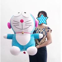 Boneka Doraemon Headset Jumbo - Doraemon Headset - Doraemon Walkman