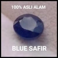 BATU SAFIR NATURAL BLUE SAPPHIRE 100% ASLI ALAM SUPER MULUS KILAU OKE