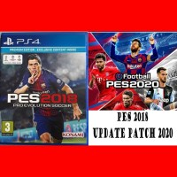 Option file PES 2020 PS 4 untuk BD PES 2018/2019 PS4