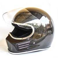 Bandit Simpson carbon helm custom. Helm cakil. Helm classic retro