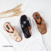 Pluvia - JASMINE Sandal Tali Silang Wanita