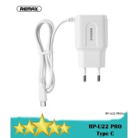 REMAX RP-U22 PRO 2.4A Dual USB Charger SET Type C - Fast Charging